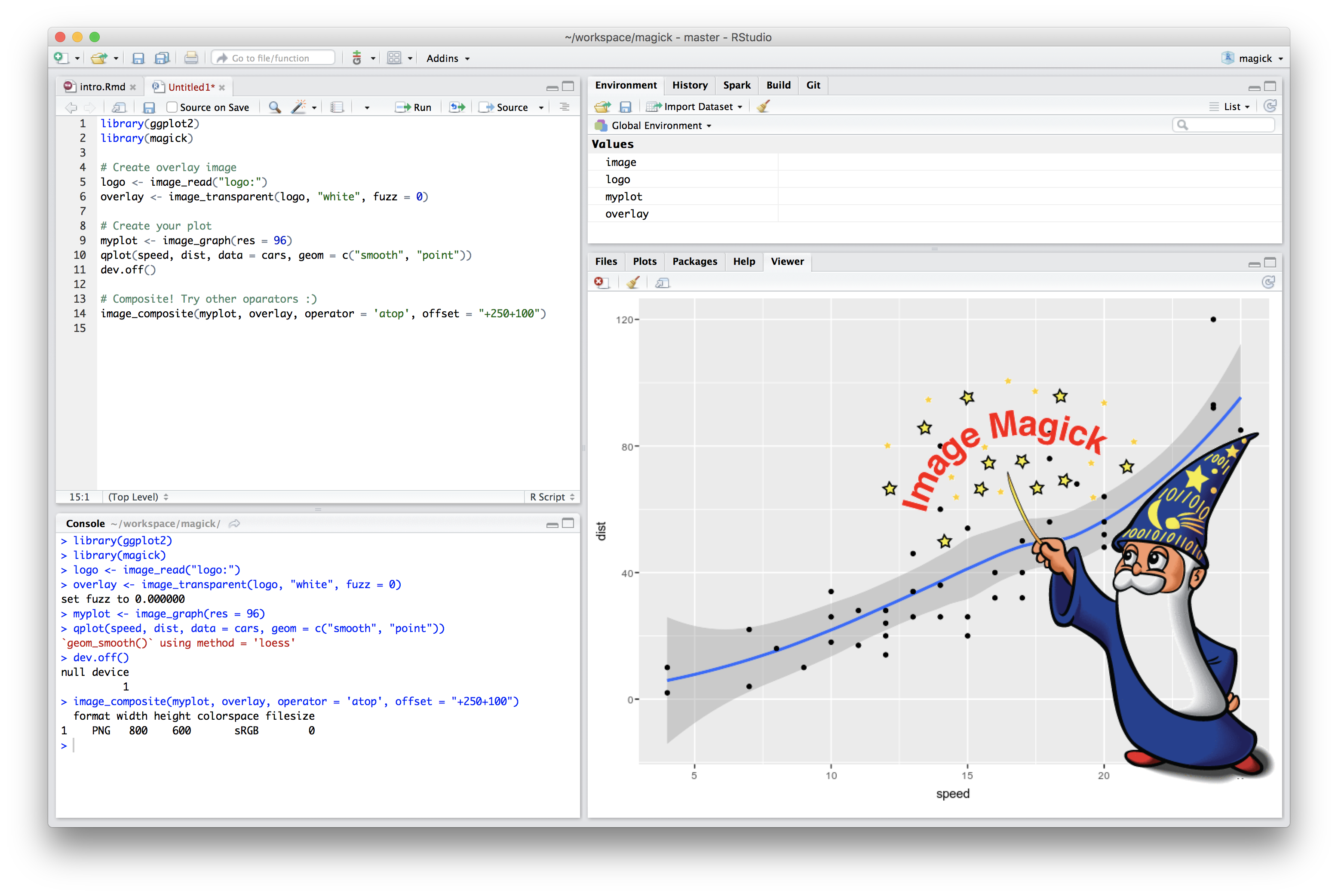 RStudio Screenshot